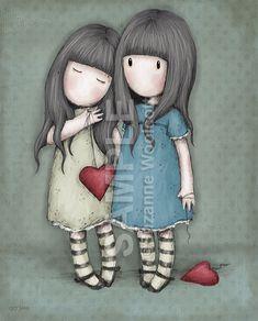 With A Heavy Heart by gorjuss.deviantart.com