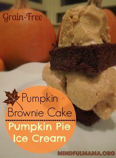 ... chunk ice cream recipes dishmaps cream pumpkin brownie chunk ice cream