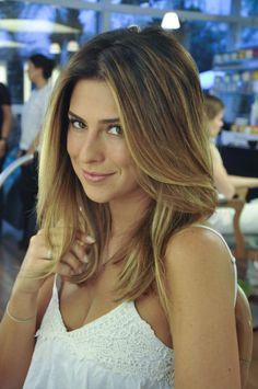 Fernanda Paes Leme é nossa cliente fiel e, sempre que está em São Paulo, passa por aqui para seja para se maquiar, para cuidar dos fios ou até mesmo para d