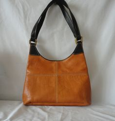Pre-Owned Leather Hand Bag****** by RamsesTreasure on Etsy