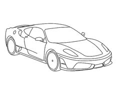 Luxurious Ferrari Cars Coloring Pages Kids Play Color In 2020 Cars Coloring Pages Coloring Pages Ferrari Car