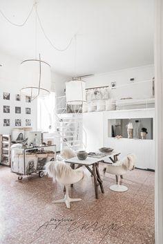 © Paulina Arcklin   Paulina Arcklin's unready Milano loft on process