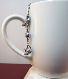 Tea Time Teapot Adorable and Cute Tea Infuser by CamilleLaLune