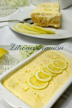 Zitronentiramisu… luftig, frisch und sehr lecker Lemon tiramisu … airy, fresh and very tasty