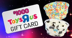 Win a $1,000 Toys R Us Gift Card