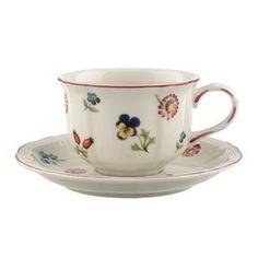 Villeroy & Boch, Petite Fleur Tea Cup & Saucer