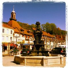 Poligny in Franche-Comté