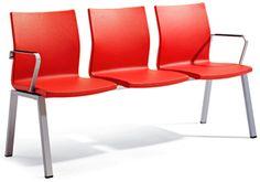 Bancada Uma de Actiu para salas de espera - http://www.asturalba.com/mobiliario/sillas/uma/uma.htm
