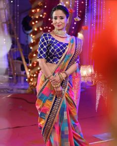 Glad I got to play a negative role in Ishq Mein Marjwana: Lata Sabharwal Saree Wearing Styles, Designer Sarees Wedding, Desi Wedding Dresses, Wedding Saree Collection, Modern Saree, Cute Girl Dresses, Indian Gowns Dresses, Saree Trends, Bridal Photoshoot