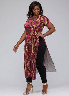 African Print Accessories - Modern African Clothing Online – D'IYANU Modern African Print Dresses, Modern African Clothing, African Print Dress Designs, African Print Clothing, African Inspired Fashion, Latest African Fashion Dresses, African Dresses For Women, African Attire, Modern African Fashion