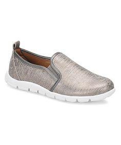Silver Cardea Walking Shoe #zulily #zulilyfinds