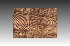 Decorative abstract 3D relief sculpture model for CNC machining Flow 7692