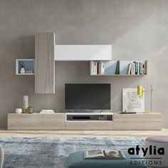 Meuble TV scandinave Jueva ATYLIA Editions