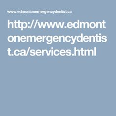 Edmonton Emergency Dentists provide top dental care solutions and treatments for people in Downtown, Edmonton. Their dentists are professional enough to handle any kind of dental emergency at the clinic. They serve in Edmonton and its surrounding areas. Some of the dental emergencies treated by them includes abscessed tooth, bitten tongue/lip, broken tooth, toothache and treatment for root canal.
