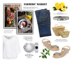 """Farmers market"" by katarina-blagojevic ❤ liked on Polyvore featuring 7 For All Mankind, New Look, Dot & Bo and Vanity Fair"
