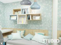 pokój dziecięcy, młodzieżowy, błękitny, błękit, pastelowy - zdjęcie od MIKOŁAJSKAstudio - Pokój dziecka - Styl Skandynawski - MIKOŁAJSKAstudio