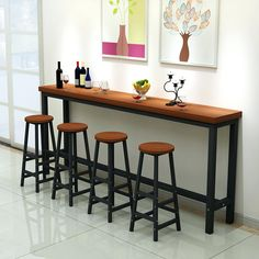 Fresh Interior Wall Bar Table with Patio Bar Set, Pub Table Sets, Bar Tables, Outdoor Bar Table, Bar Dining Table, Bar Table And Stools, Rustic Console Tables, Dining Room, Outside Furniture