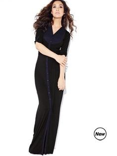 Myleene klass jersey maxi dress