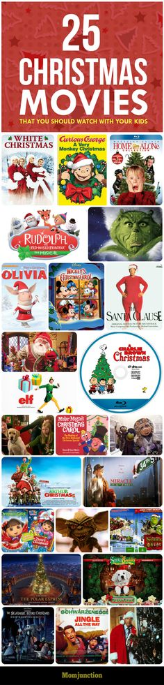 top 25 christmas themed movies that you should watch with your kids if you - Best Kid Christmas Movies