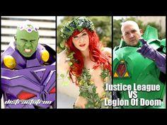 COMIC BITS ONLINE: Justice League VS Legion Of Doom