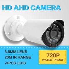 $24.68 (Buy here: https://alitems.com/g/1e8d114494ebda23ff8b16525dc3e8/?i=5&ulp=https%3A%2F%2Fwww.aliexpress.com%2Fitem%2FHigh-Difinition-Bullet-IR-AHD-Camera-Outdoor-720P-3-6MM-Lends-Security-Video-CCTV-Analog-Camera%2F32433230480.html ) HD Bullet IR AHD Camera Outdoor 720P 3.6MM Lens Security Video CCTV Analog Camera IR 20M Waterproof CCTV Surveillance Cameras for just $24.68