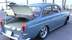 """This is """"Tim's 1969 Volkswagen Notchback"""" by VW TV on Vimeo, the home for high quality videos and the people who love them. Volkswagen Type 3, Volkswagen Karmann Ghia, Volkswagen Group, Vw Variant, Vw Trike, Porsche, Audi, Custom Camaro, Vw Classic"""