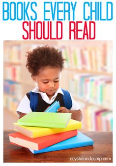 A collection of books every child should read as you learn the alphabet. (books children must read)