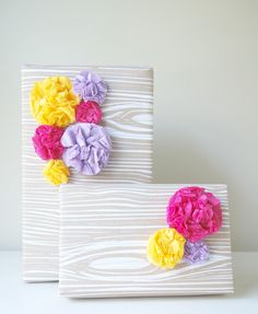 Gift Wrap Pom Collection