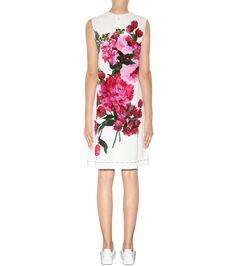 mytheresa.com - Printed crêpe dress - Luxury Fashion for Women / Designer…