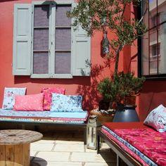 Relooking de terrasse à Marseille, par Slowgarden #terrasse #marseille #avantapres
