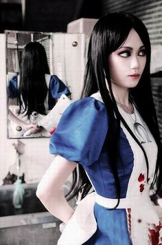 Alice Madness Returns Cosplay Dresses   Alice In Madness Cosplay And Make Up