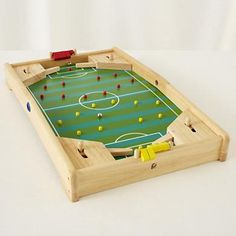 Kids' Games: Wooden Soccer Pinball Game in Games for G