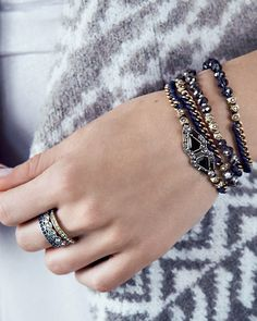 We've put a sparkly spin on our bestselling wrap bracelet — and this time it's all dressed up for holiday! #armsoirée https://www.chloeandisabel.com/boutique/lisahaas