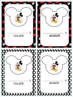 Mickey Mouse Classroom, Disney Classroom, Classroom Setup, Future Classroom, Computer Lessons, Disney Theme, Beginning Of School, Binder Covers, Sensory Bins