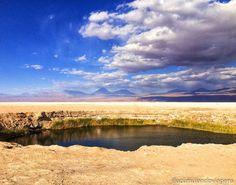 """742 curtidas, 39 comentários - Travel Blog by Gabi 💙 Rafa (@acumulandoviagens) no Instagram: """"🌎 Ojos del Salar, Deserto do Atacama Chile . A segunda parada do passeio para a Laguna Cejar foi…"""""""