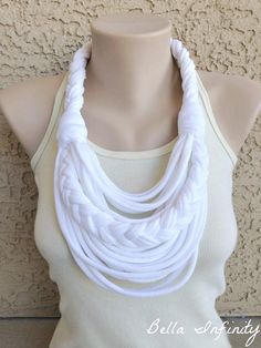 Bella Infinity Braided Scarf UpCycled by BellaInfinityScarves, $27.00 www.facebook.com/infinity0512