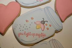 You Light Up My Life | Cookie Connection Mother's Day Cookies, Summer Cookies, Valentines Day Cookies, Fancy Cookies, Iced Cookies, Cut Out Cookies, Cute Cookies, How To Make Cookies, Sugar Cookie Frosting