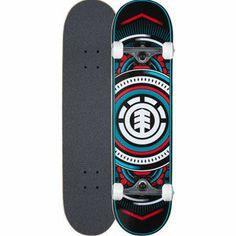 ELEMENT Hatched 7.7 Full Complete Skateboard