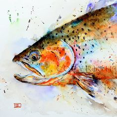 Dean Crouser's watercolors are amazing. Prints are available in his shop at, http://www.etsy.com/shop/DeanCrouserArt #watercolor jd