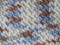 Grit stitch crochet Dishcloth