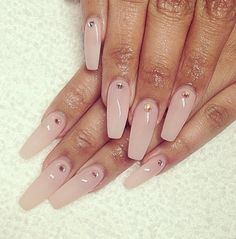 Nails with a hint of jewels