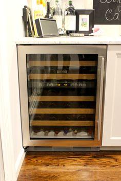 Wet bar with Sub Zero wine fridge | Our New Kitchen - 12/13 | Pinterest | Wine  fridge, Sub