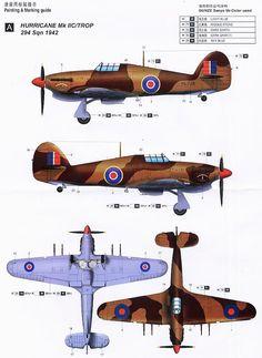 Hawker Hurricane Navy Aircraft, Ww2 Aircraft, Military Aircraft, Hawker Hurricane, British Armed Forces, Aircraft Painting, Supermarine Spitfire, Ww2 Planes, Military Photos