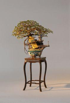 Bonsai. 盆栽