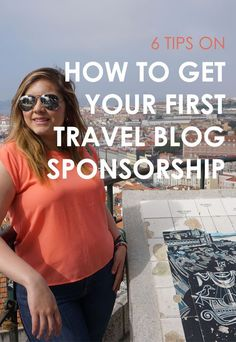 Want to travel the world for *almost* free? Here are my 6 tips on how to get your very first travel blog sponsorship (even if you have less than 10k followers!): #travelhacks