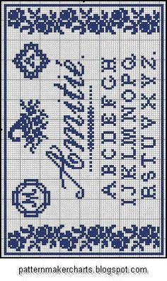 Free Easy Cross, Pattern Maker, PCStitch Charts + Free Historic Old Pattern Books: Sajou No 101