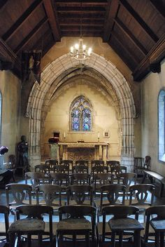 Joan of Arc's Chapel      This Chapel was brought over from France and is on the campus of Marquette, Milwaukee, WI, USA