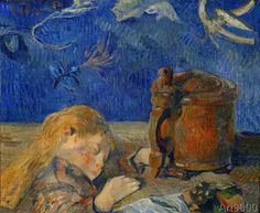 Paul Gauguin - The sleeping child