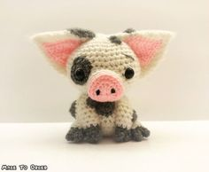 Crochet Pua / Pig Plush Inspired by Disney's by MissJennysCrochet