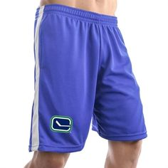 Vancouver Canucks Air Mesh Shorts - Royal Blue 8a0a3a82ef6